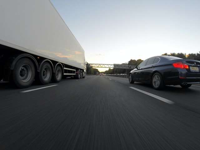 image illustrating road freight and transportation